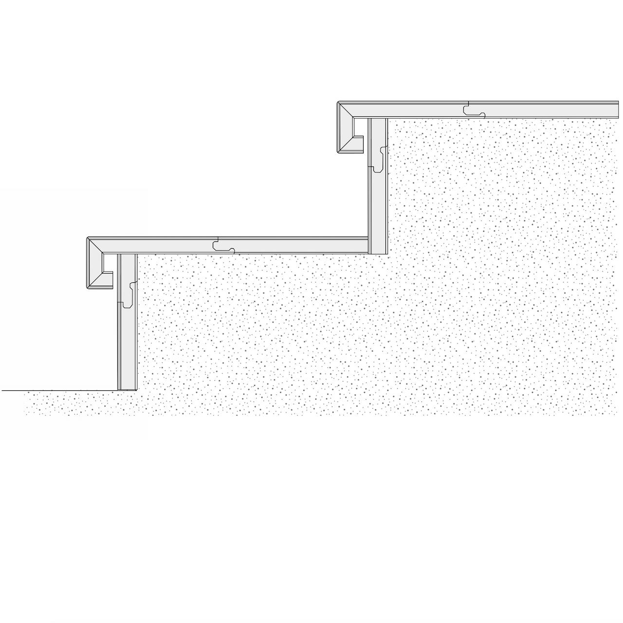 Treppenstufe Klassik 40 Parkett Eiche Bella