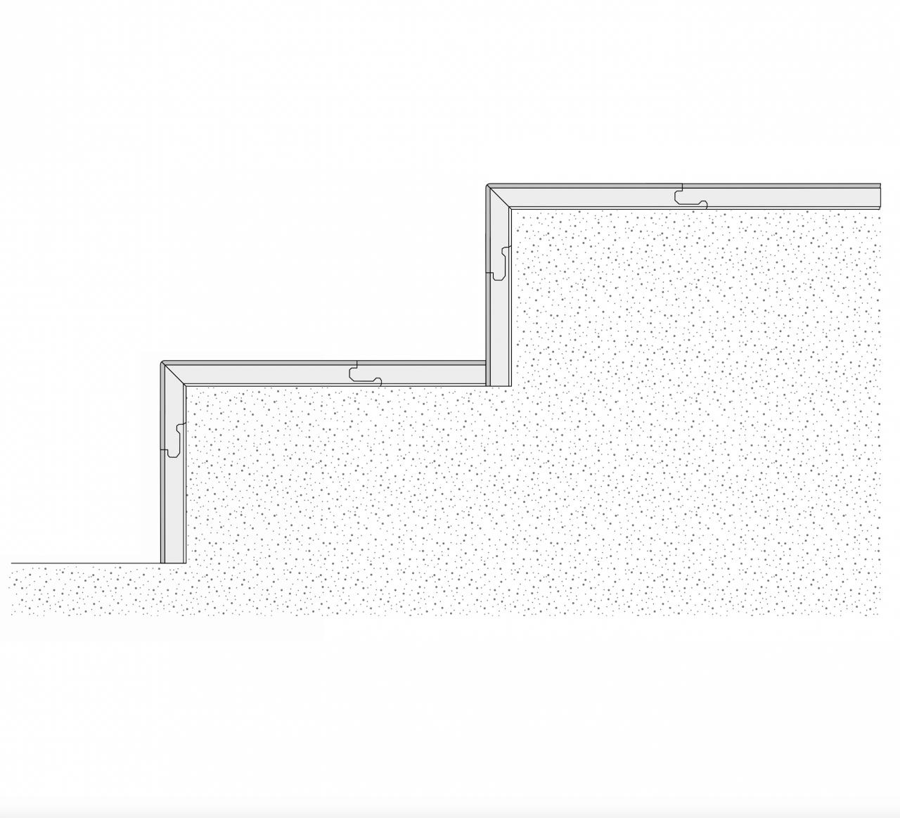 Treppenstufe Modern Parkett Eiche Bella