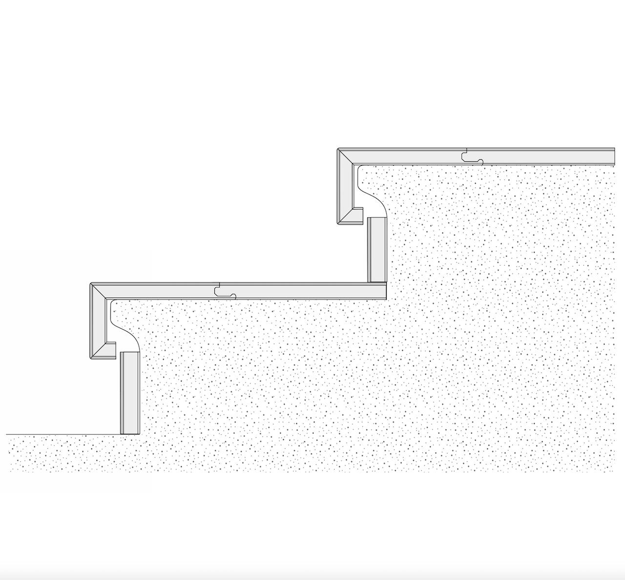 Treppenstufe Klassik 60 Parkett Eiche Bella